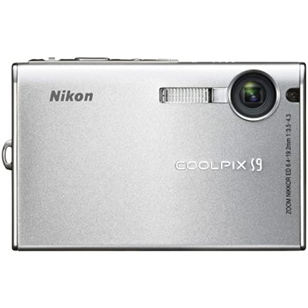 Nikon Coolpix S9 6mp Digital Camera With 3x Optical Zoom Point And Shoot Digital Cameras Camera Photo Amazon Com