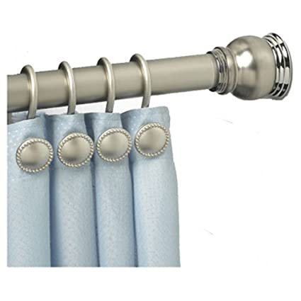 Amazon Com Zpc Zenith Products Finial Tension Shower Curtain Rod