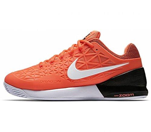 NIKE nbsp;ZOOM orange 9 US Cage Chaussures de nbsp;Clay 5 Tennis nbsp;– 2 ZZ4wxFr