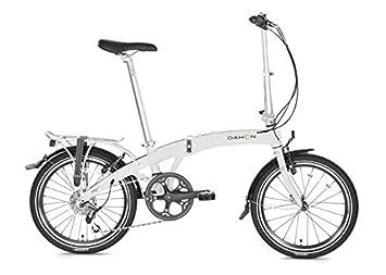 Dahon Mu D8 bicicleta plegable, Mu D8, blanco