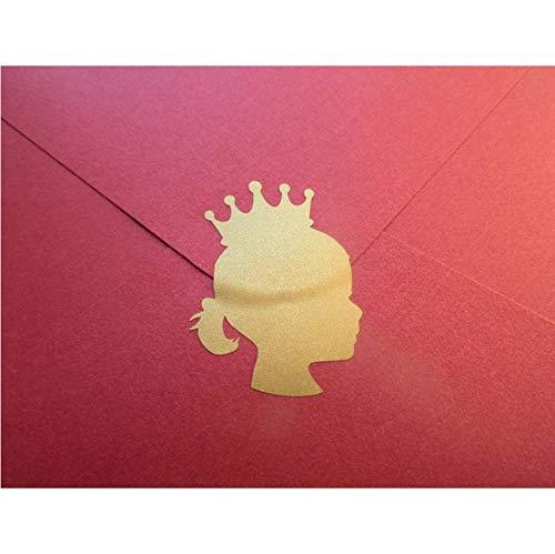 Fushoulu 30 Unidades/Set Princesa Corona Pegatinas Niña ...