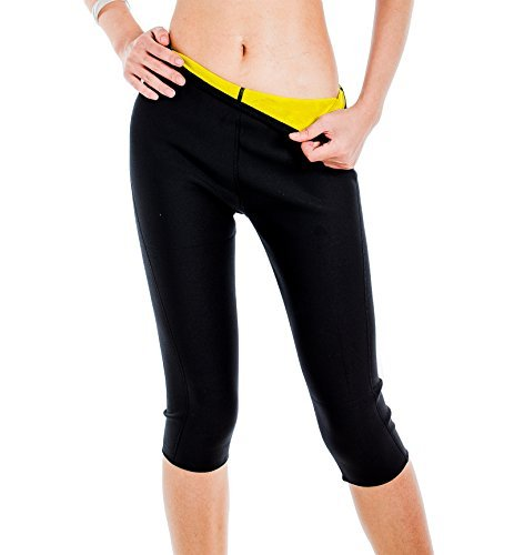 ValentinA Womens Slimming Pants Hot Thermo Neoprene Sweat