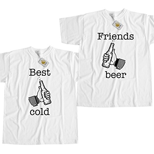 Best Friends Shirts Funny Beer T Shirt White Unisex Best Friends With Beer