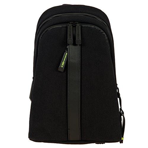 Bric's Men's Moleskine Bag Sling Backpack, Black, One Size by Bric's