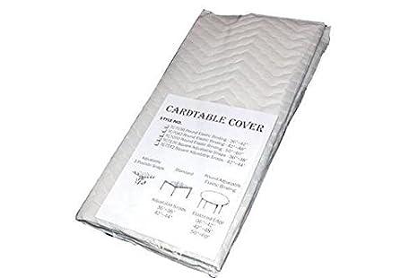 Amazon.com: Mantel cuadrado para mesa de cartas, 34 in a 38 ...