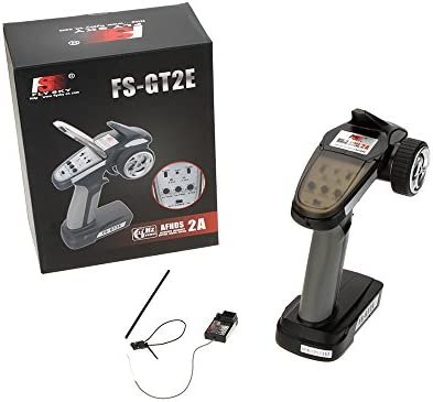 Flysky FS-GT2E AFHDS 2A 2 4ghz 2CH Radio System Transmitter for RC