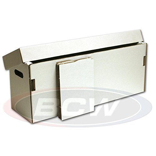 BCW 1-BX-Long-FOLD Long Comic Storage Box-Folded