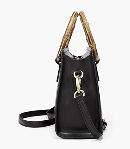 Lightweight Satchel Handbags Bag Black Bag Casual Lady Top Messenger Handle Shoulder OaqwT4Wx6