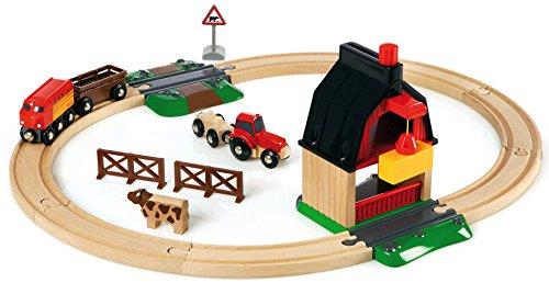 Review BRIO Farm Railway Set