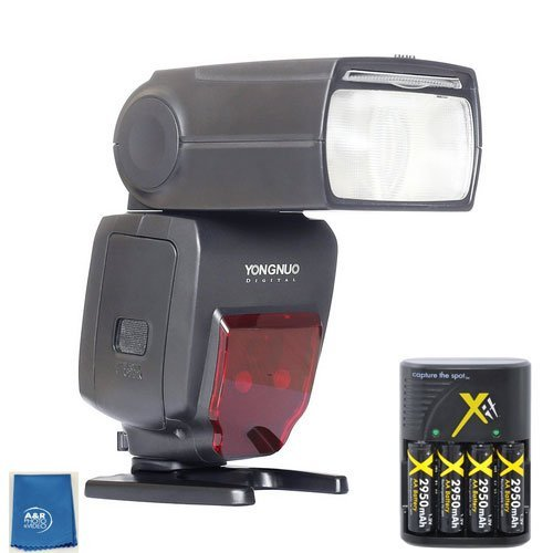 Yongnuo YN560TX LCD Wireless Flash Controller + 2 pcs YN660 Flash For Sony , Nikon , canon , Fujifilm With set of High power batteries and rapid charger