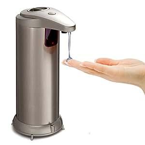 Automatic Soap Dispenser Stainless Steel Soap Touchless Soap Dispenser Fingerprint