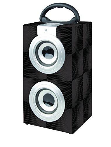 NAXA Portable Bluetooth® Stereo System, Black