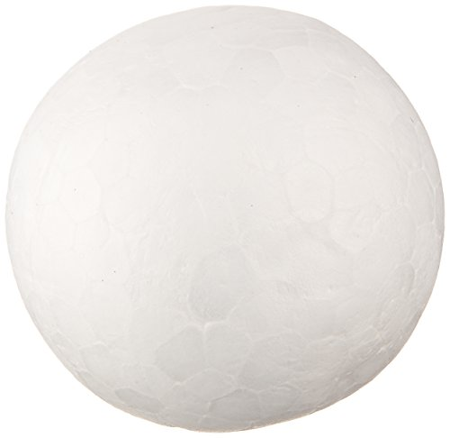 Darice 01252P 12-Piece Dura Foam Balls, 1-Inch