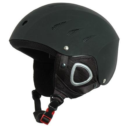 Liberty Mountain Winter Sports Helmet (Medium, Black), Outdoor Stuffs