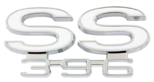 66 CHEVELLE REAR PANEL EMBLEM, SS 396,