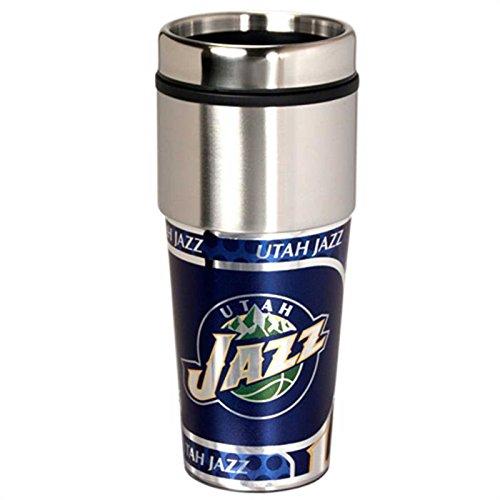 Utah 16 Ounce Tumbler - NEOPlex - Utah Jazz Travel Mug Tumbler