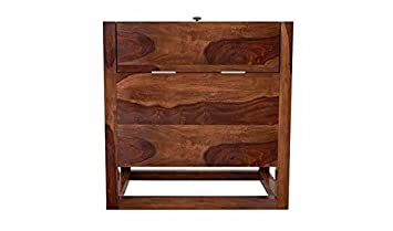 Aprodz Cross Bar Cabinet (Sheesham Wood)