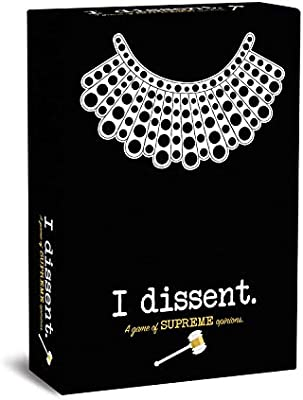 Board Game I Dissent A Game of Supreme Opinions Ruth Bader Ginsberg RBG