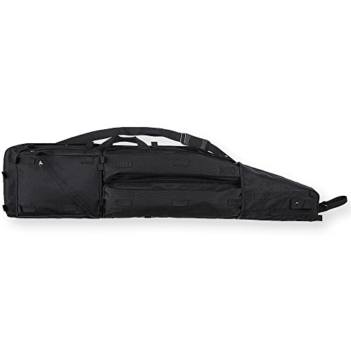 (Bulldog Cases Extreme Tactical Drag Bag, Black, 49-Inch)