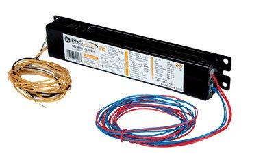 GE Lighting 72109 GE296HO-MV-N-DIY LFL Multi-Volt ProLine Electronic Program / Rapid Start Ballast for 1 or 2 F96T12HO Rapid Start