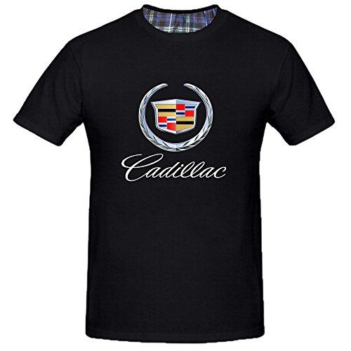 Chimpanzee Men's Cadillac General Motors T-shirt (Black X-Large)