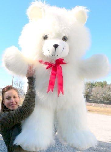 Hay Hay Chicken Stuffed Animal, Amazon Com Big Plush Giant White Teddy Bear 42 Inch Soft Teddybear Made In Usa Toys Games