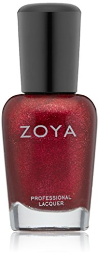 ZOYA Nail Polish, Sarah, 0.5 Fluid Ounce (Red Sparkle Nail Polish compare prices)