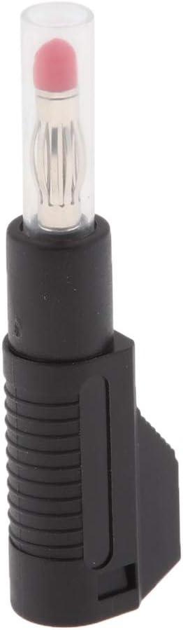 10 Pcs Black /& Red Premium Copper PA Stackable Banana Plug Connectors Banana Jack Adapters 4mm