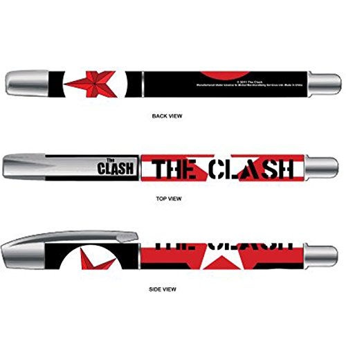 The Clash Stars and Stripes Logo Official New Black Gel ()