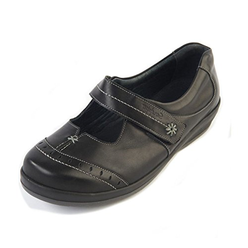 donna stringate Scarpe Sandpiper Sandpiper Black Scarpe xfUq6