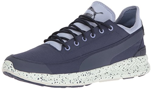 Puma Mens Ignite Calzino Winter Tech Fashion Sneaker Peacoat / Tempest