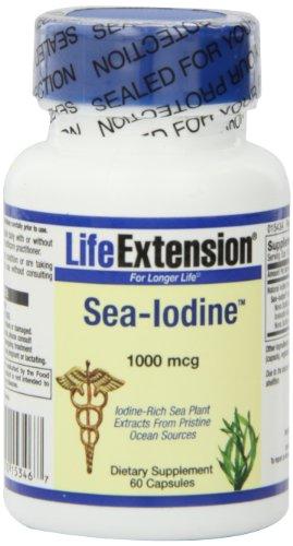 Life Extension Sea Iodine 1000 Mcg Veg Cap, 60-Count
