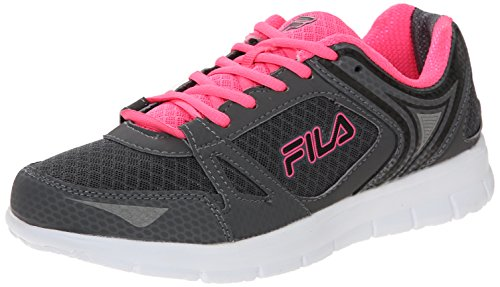 Fila Womens NRG Running Shoe Castlerock/Knock Out Pink
