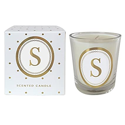 Candles & Tea Lights Home Decor Letter K Alphabet Scented Candle