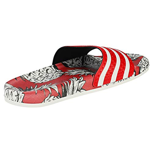 De Para scarlet Adidas W Mujer Gimnasia scarlet Zapatillas off Rojo 0 White Adilette txxXq6