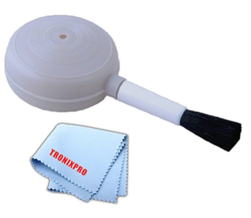 Air Dust Blower and Soft Brush for Digital Camera Lenses, LCD Screens and Cleaning Keyboards.
