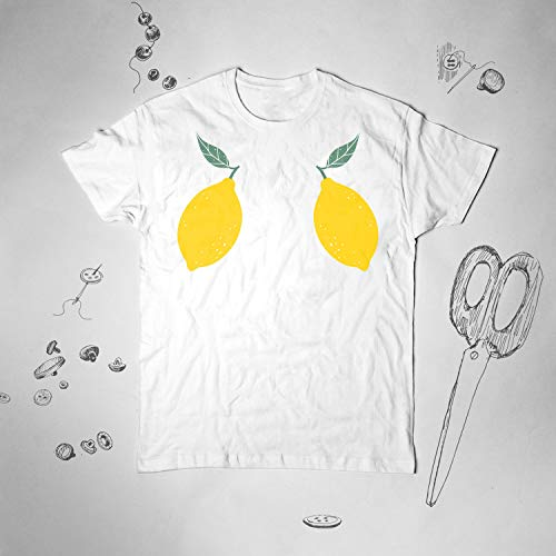 Lemons shirt Women Girl Men t shirt tshirt Youth Summer Aesthetic Graphic tee Funny Tumblr Lady Teens Unisex Boobs Gift idea for him her (The Best Boobs Tumblr)