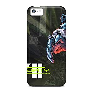 AlexandraWiebe XDN37685DRKx Cases Covers Iphone 5c Protective Cases War Machine S7