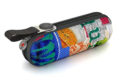 Knirps X1 811 Taschenschirm marineblau Mehrfarbig