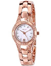 Women's Charlotte Rose Gold-Tone Stainless Steel Watch ZR12067