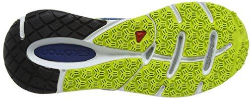 Salomon Sense Pulse, Sneakers da Uomo Blu (Gentiane/Methyl Blue/Gecko Green)