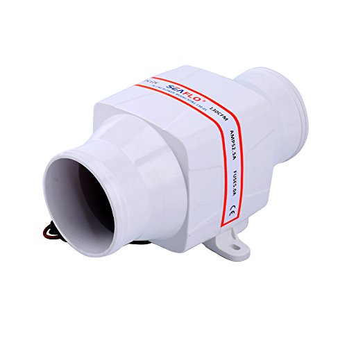 Marine Boat 12v Electric in Line Bilge Air Blower 130cfm 3