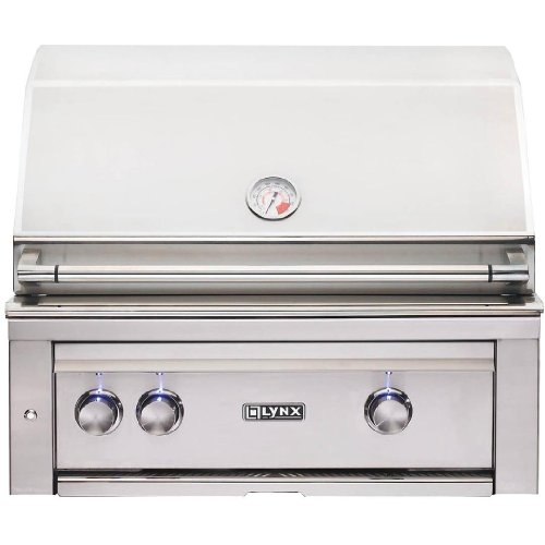 Lynx L500PSR-NG Sedona 30-Inch Built-In Natural Gas Grill with Pro Sear Burner and Rotisserie by Lynx