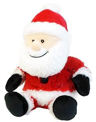 Intelex Warmies Santa Claus Cozy Plush Heatable Lavender Scented Stuffed Animal -