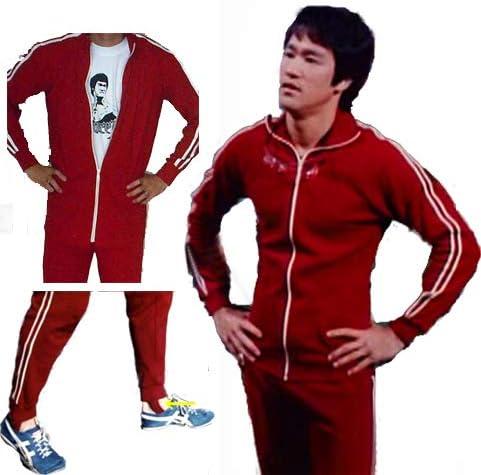 Solid Fitness Estilo Vintage 2 Piezas Rojo Bruce Lee Longstreet ...