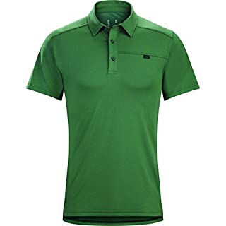 Arc'teryx Men's Captive Polo S/S Cypress Shirt (B01GFJNZ10) | Amazon price tracker / tracking, Amazon price history charts, Amazon price watches, Amazon price drop alerts