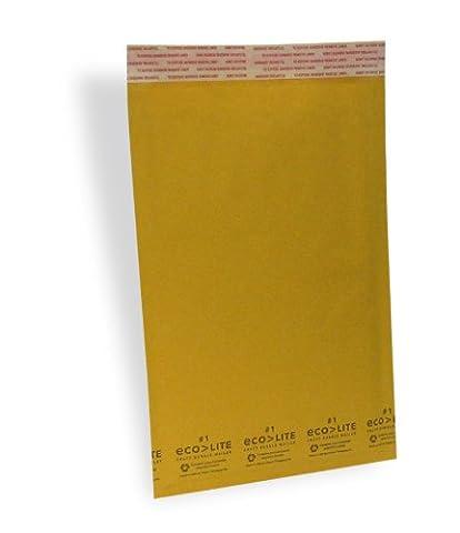 100 #1 7.25x12 KRAFT BUBBLE MAILERS PADDED ENVELOPES #1