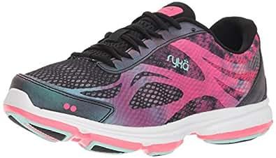 Ryka Women's Devotion Plus 2 Walking Shoe, Black, 5 M US