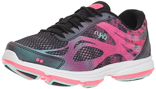 Ryka Women's Devotion Plus 2 Black Fabric/Pu 8 Wide US
