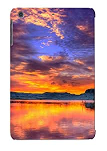 Fashion Tpu Case For Ipad Mini/mini 2- Sunset At The Lake Defender Case Cover For Lovers